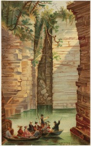 Leaning Rock, Ausable Chasm
