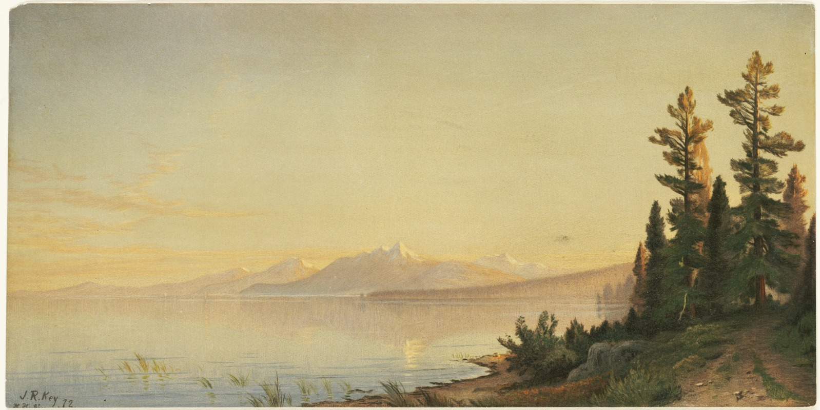Lake Tahoe, Looking Southwest