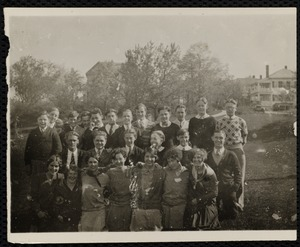 Group photo, some in scout uniform