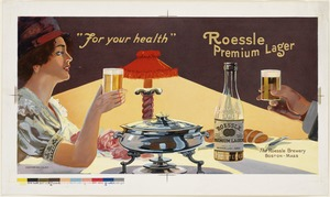 For your health. Roessle premium lager