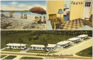 Adrian's Sea Shore Apartments, Fort Pierce Beach, Florida