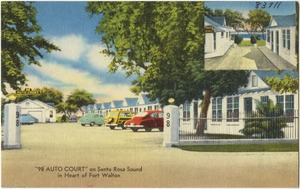 """98 Auto Court"" on Santa Rose Sound in heart of Fort Walton"