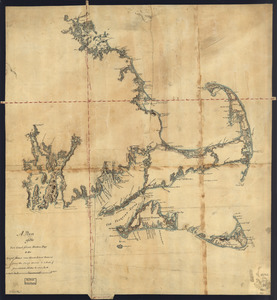 A plan of the sea coast from Boston Bay to the light house near Rhode Island