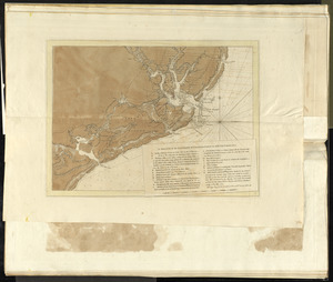 A sketch of the environs of Charlestown in South Carolina
