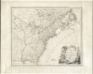 The United States of America laid down from the best authorities, agreeable to the Peace of 1783
