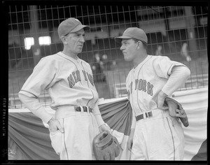 Two baseball players - New York