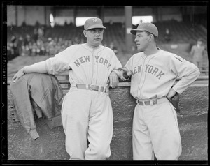 New York Giants players, Braves Field