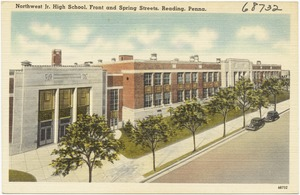 Northwest Jr. High School, front and Spring streets, Reading, Penna.
