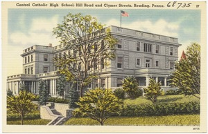 Center Catholic High School, Hill Road and Clymer streets, Reading, Penna.