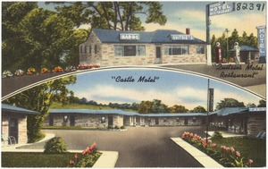Castle Motel and Restaurant, U.S. Route 40 -- 1/2 mile west of Washington, Pa.