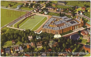 Aerial view of Elmer L. Meyer's High School, Wilkes-Barre, Pa.