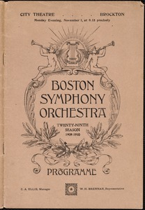 Boston Symphony Orchestra--29'th season