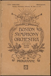 Boston Symphony Orchestra--40th season