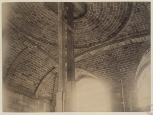 Ceiling of the Boylston Street entrance, construction of the McKim Building