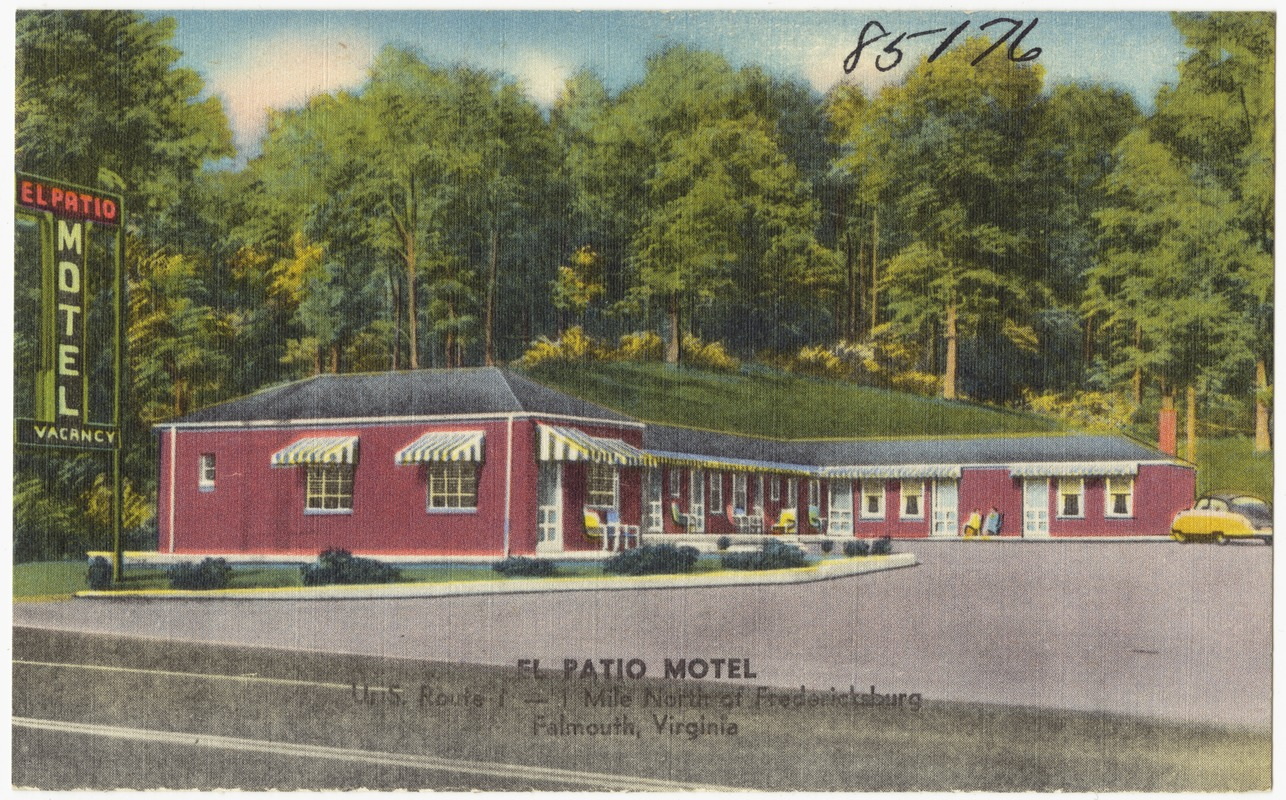 El Patio Motel, U.S. Route 1 -- 1 Mile North Of