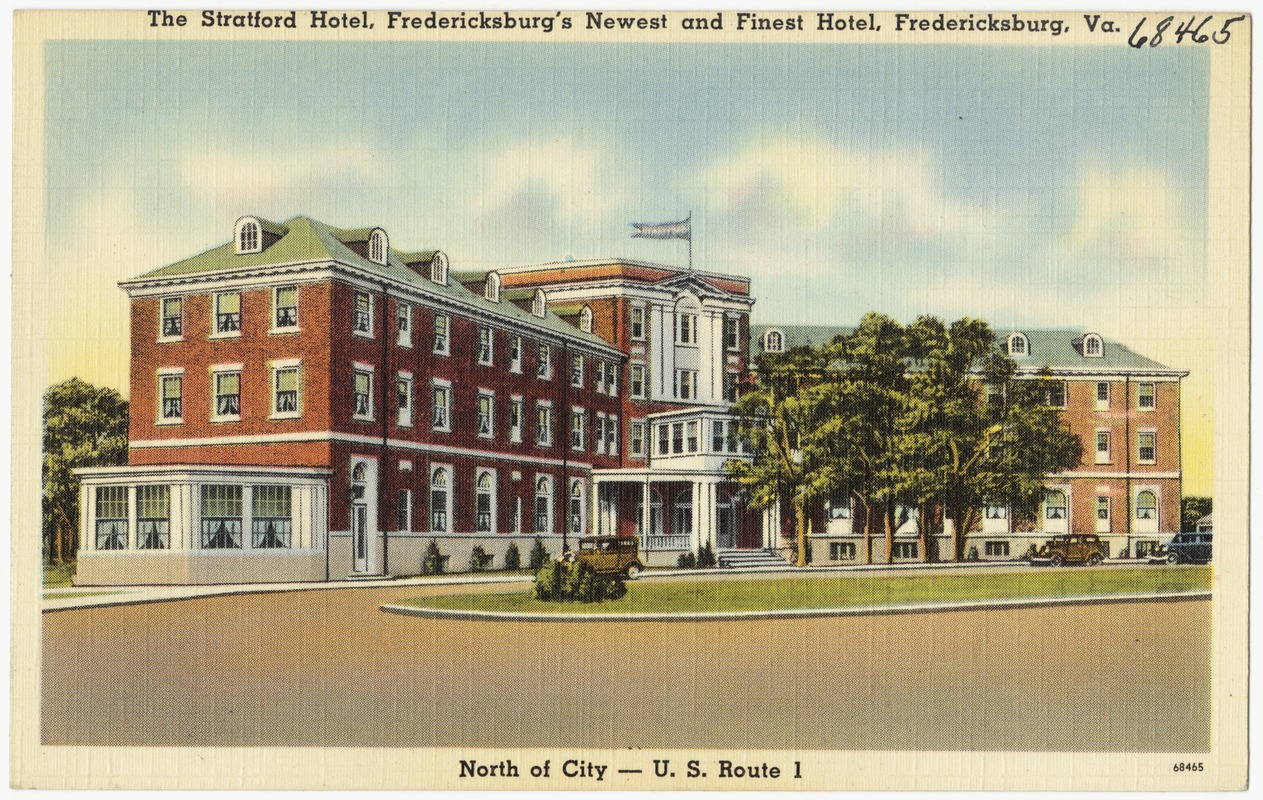 The Stratford Hotel Fredericksburg S Newest And Finest Va North Of City U Route 1