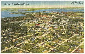 Aerial view, Hopewell, Va.