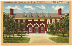Administration bldg., William and Mary College, Norfolk, Va.