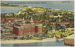 The new Chamberlin Hotel, Old Point Comfort, Virginia