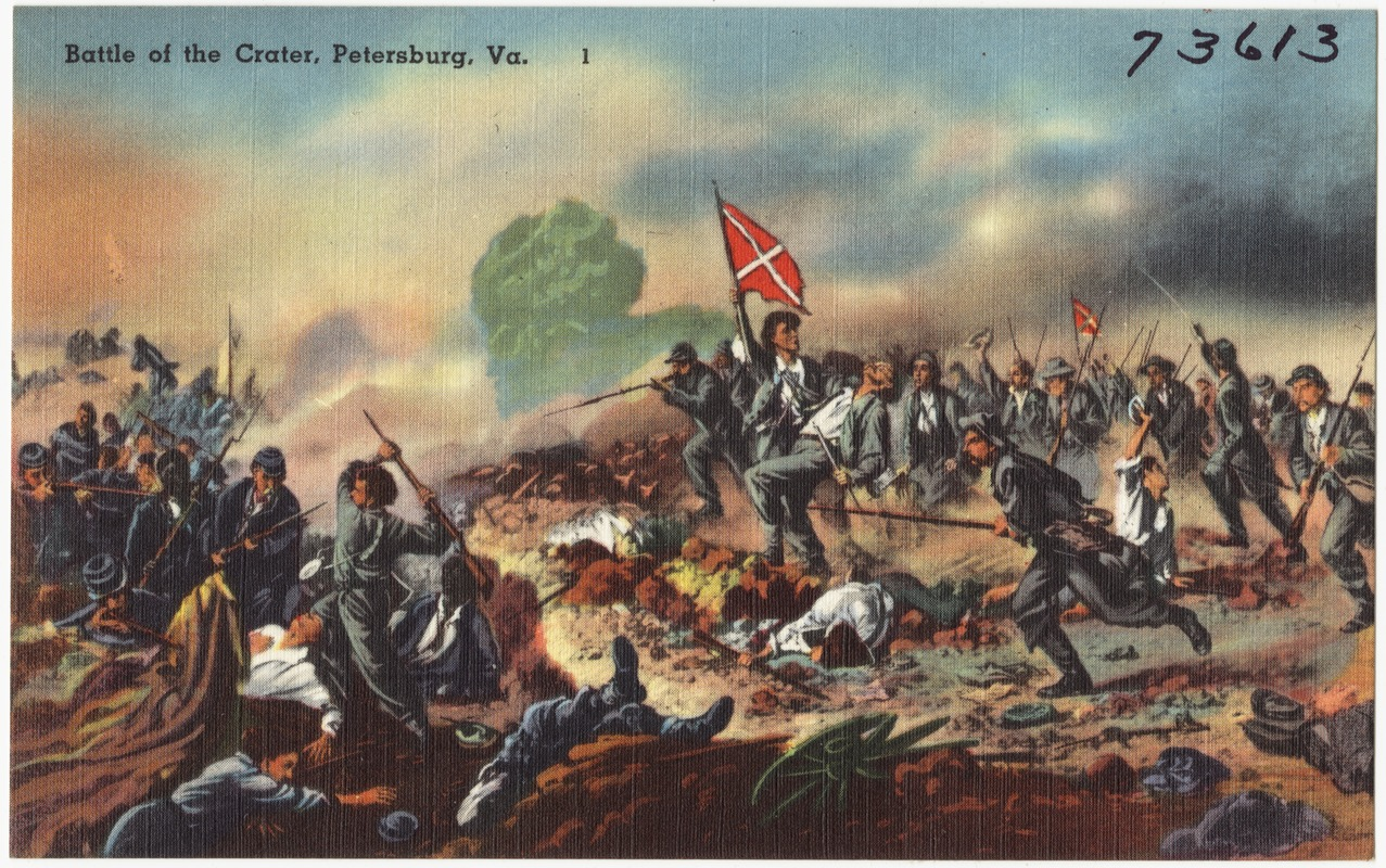 Battle of the Crater, Petersburg, Va.