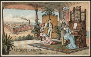 A. B. Chase Organ Co., Norwalk, U. S. A.