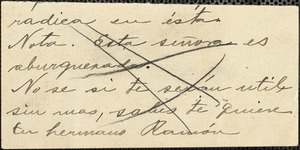 [Diamond Union Stamp Workers?] autographed note (fragment) to [Nicola Sacco and Bartolomeo Vanzetti], [Boston]