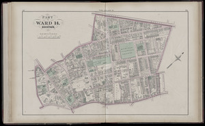 Atlas of the county of Suffolk, Massachusetts : vol. 2nd late city of Roxbury, now wards 13-14 and 15, city of Boston
