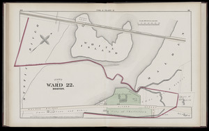 Atlas of the county of Suffolk, Massachusetts : vol. 6th including the late city of Charlestown, now wards 20,21 and 22, city of Boston : from actual survey & official records