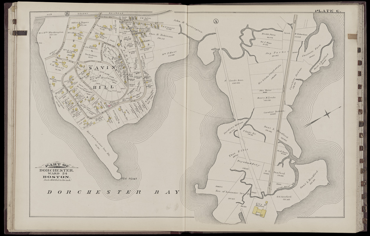 Atlas of the city of Boston : Dorchester : volume three : from actual surveys and official records