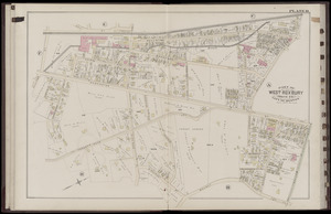 Atlas of the city of Boston : West Roxbury : volume five : from actual surveys and official records