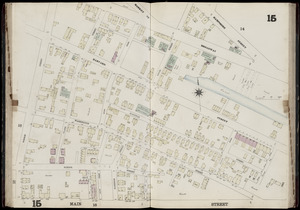 Insurance map of Charlestown : portions of Roxbury (now annexed to Boston) and Cambridge