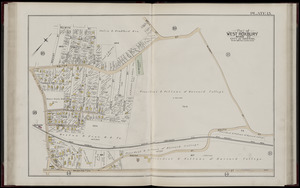 Atlas of the city of Boston, West Roxbury, Mass., volume six : from actual surveys and official plans