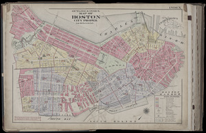 Atlas of the city of Boston, Boston proper and Back Bay : from actual surveys and official plans