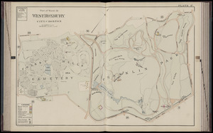 Atlas of Dorchester, West Roxbury and Brighton, city of Boston