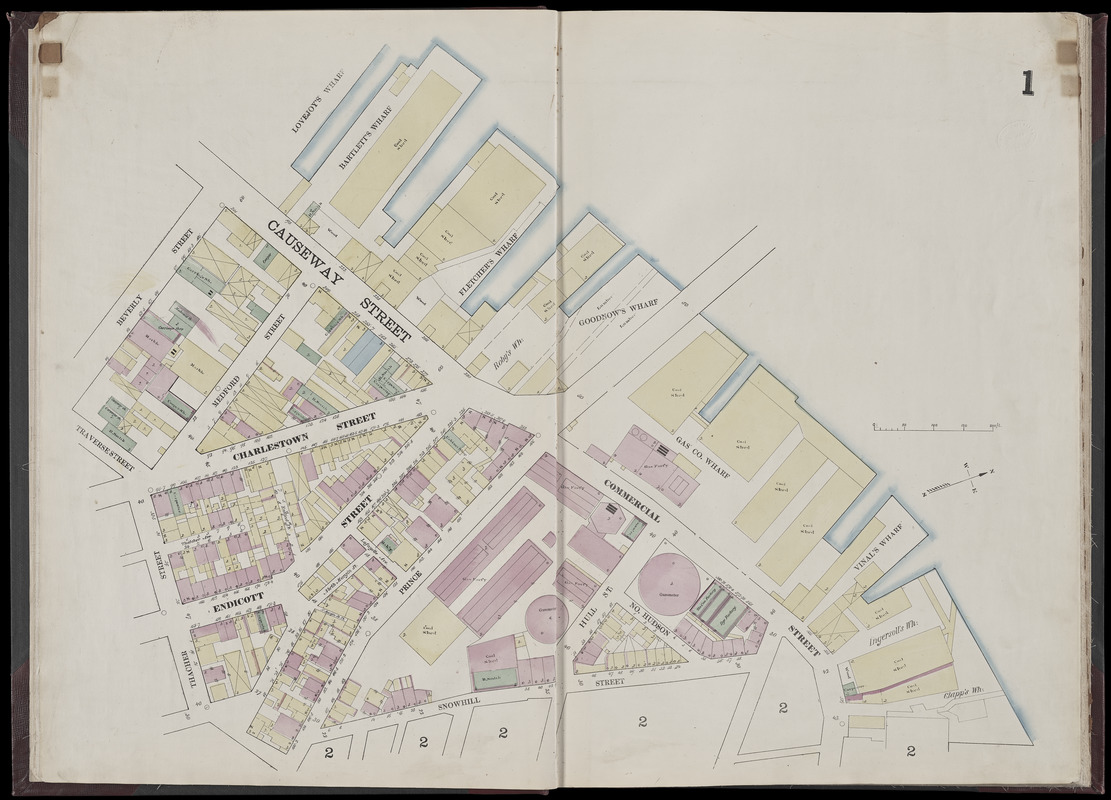 Insurance map of Boston : volume 1 - Norman B. Leventhal Map ... on