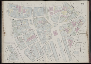 Insurance map of Boston : volume 1
