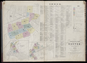 Insurance map of Boston