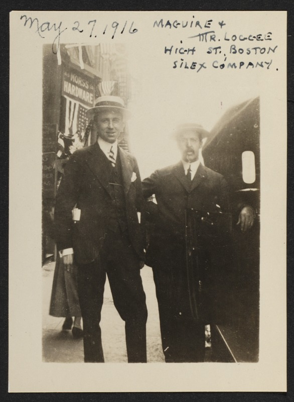 Maguire & Mr. Loggee, High Street, Boston. Silex Company