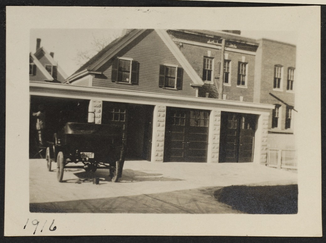 Carriage house (now remodeled into garage)