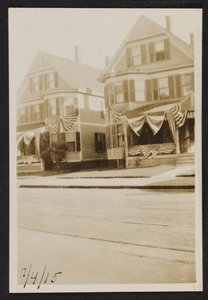 Two sister's houses, (195 & 197) Highland Avenue. Aunt Lizzie's house was on the left, Don King's grandfather's (Charles Corwin) on right