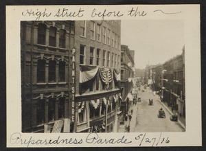 High Street before the preparedness parade, 5/27/1916