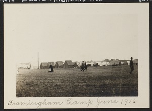 Framingham Camp, June 1916