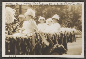 Uncle Joe, Diddie, Mrs. Plummer, Clyda, Mrs. Moulton - 1913