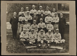 Baseball team, 1920, Northern Junior High, Somerville