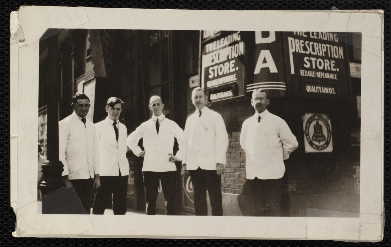 Rexall Drugs, portrait of pharmacists
