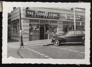 The Rexall store, Vose Drugs, 310 Broadway