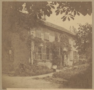 Roxbury, Craft house, Tremont Street, 1709