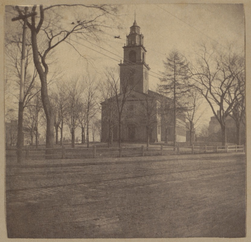 Roxbury, First Church, Eliot Square, 1804.
