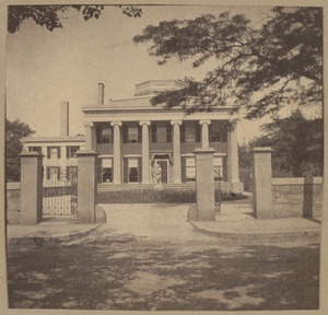 Roxbury, Kittredge House, Highland Street on site of Roxbury Fort in 1774, 1830.