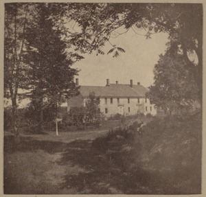Wilton, N. H., Jacob Putnam house, early eighteenth-century
